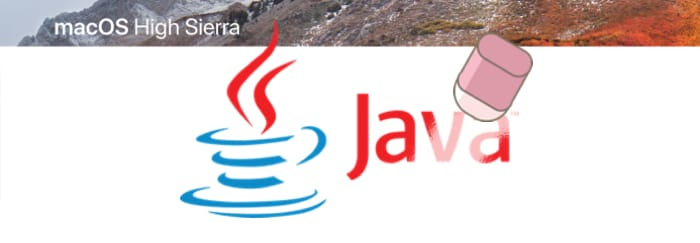How to uninstall Java on macOS High Sierra